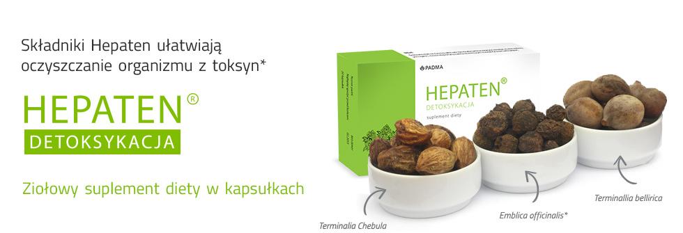 Hepaten oczyszcza organizm i poprawia samopoczucie